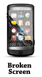 Broken Screen for Samsung Galaxy S2 I9100